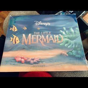 Lithograph Portfolio Disney Little Mermaid Vintage